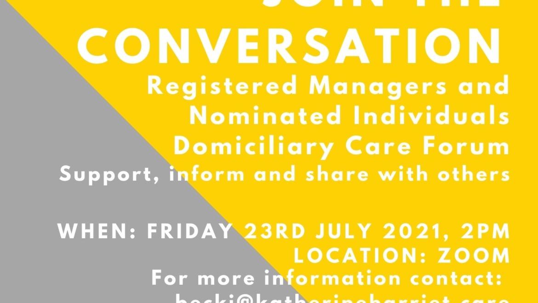 Domiciliary Care Forum